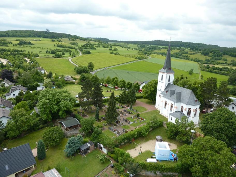 Kirche, Golfplatz